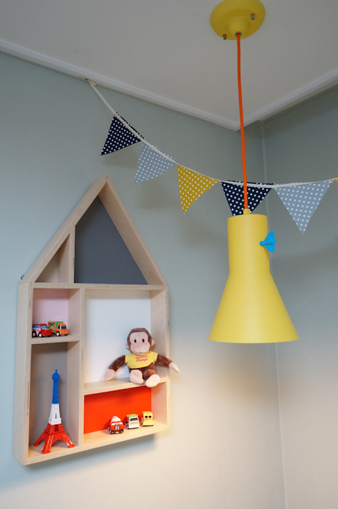 Scandinavian style nursery/kids room by 유노디자인 Scandinavian