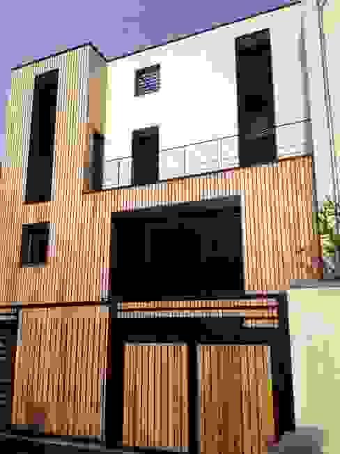 Maison ecolo Issy les Moulineaux BIO TEKNIK CONSULTING Maisons modernes