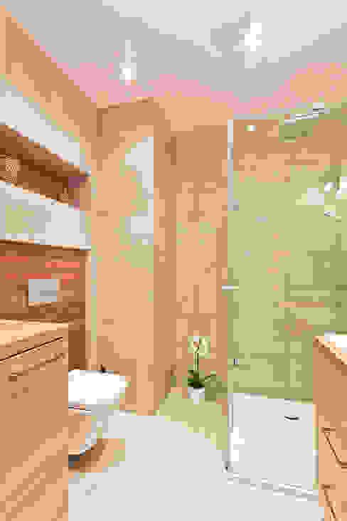 łazienka: styl , w kategorii Łazienka zaprojektowany przez ap. studio architektoniczne Aurelia Palczewska-Dreszler,Skandynawski