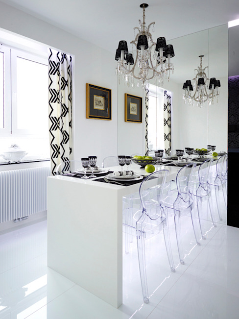 Eclectic style dining room by t design Eclectic