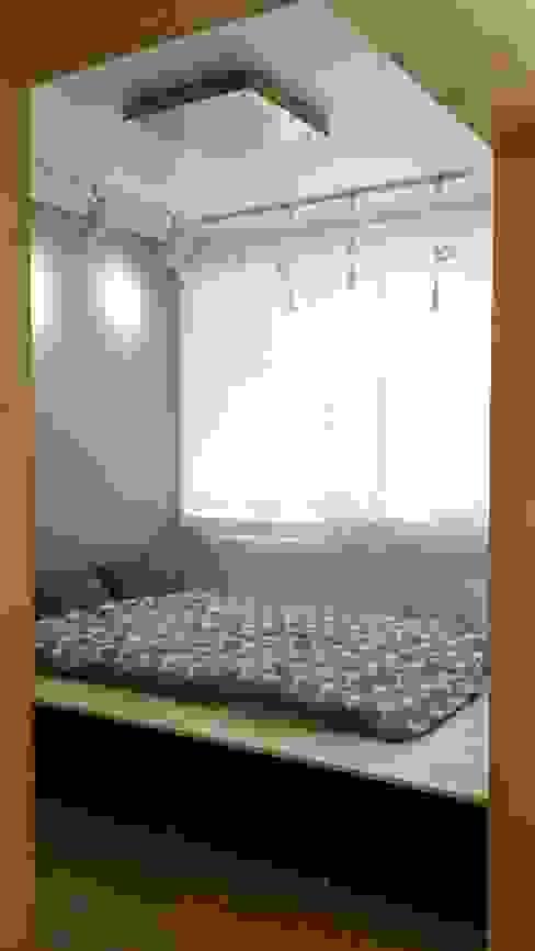 주택 리모델링 미니멀리스트 침실 by 해밀건축사사무소 미니멀