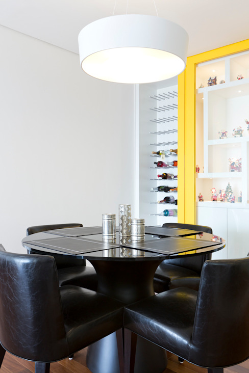Ruang Makan Gaya Eklektik Oleh ArkDek Eklektik