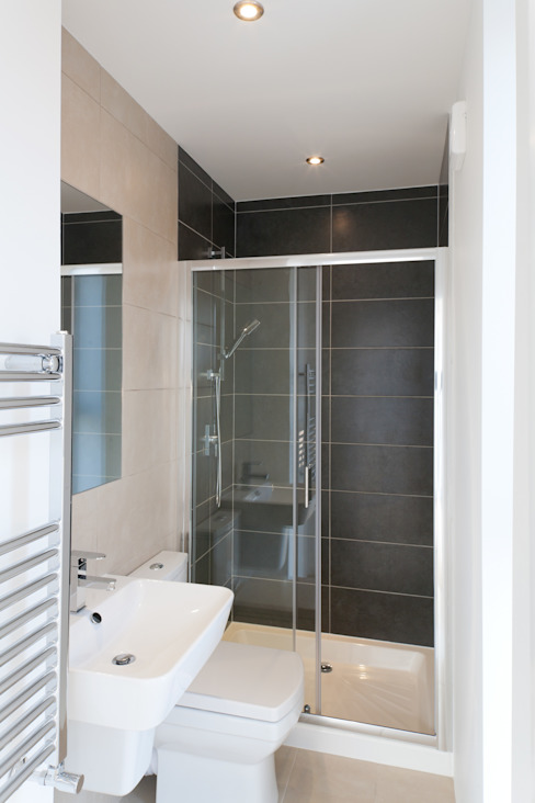Gipsy Hill Granit Architects Modern bathroom