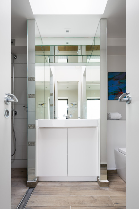 Green Retrofit, Lambourn Road Modern bathroom by Granit Architects Modern