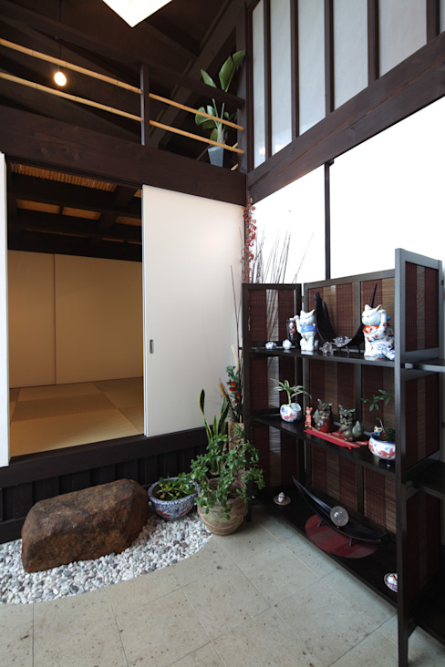 厚木の家 日本家屋・アジアの家 の homify 和風