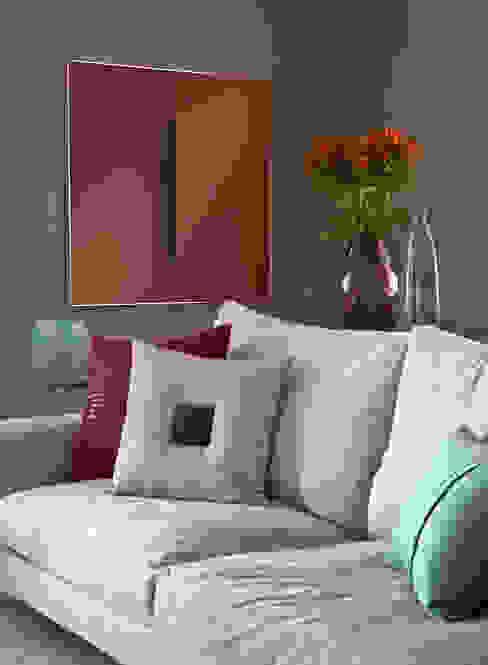 Detalhe do Living Salas de estar modernas por Marilia Veiga Interiores Moderno