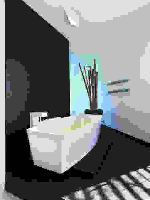 B-House Bagno moderno di Damilano Studio Moderno