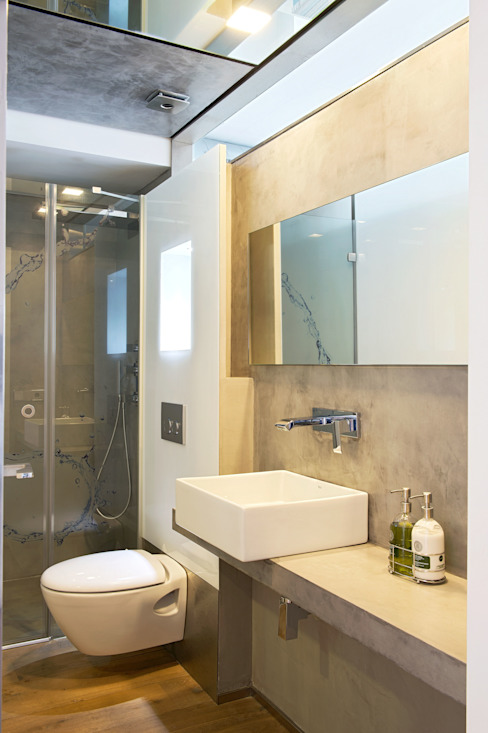 Modern style bathrooms by estudioitales Modern