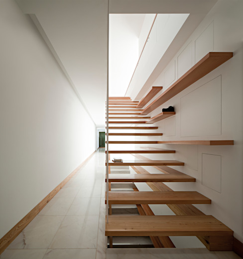 Corridor, hallway by Phyd Arquitectura