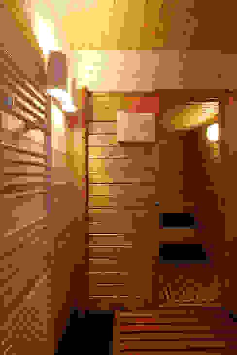 réaménagement d'un chalet à Avoriaz Spa moderne par Florine Burger Architecte Moderne