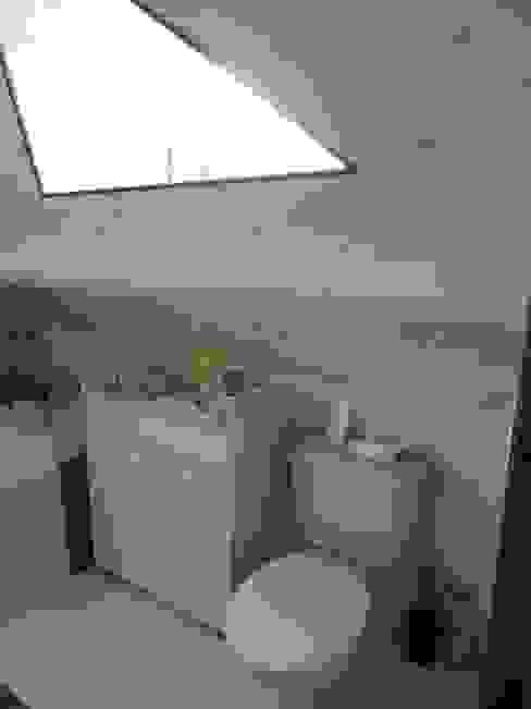 La salle de bain et toilettes avant transformation par L'Autrement Déco Rustique
