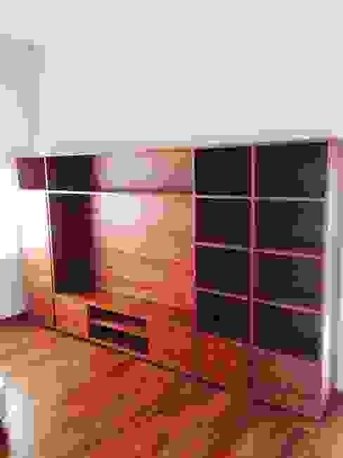 Mueble Librero Estudios y oficinas estilo mediterráneo de Farré Muebles Mediterráneo