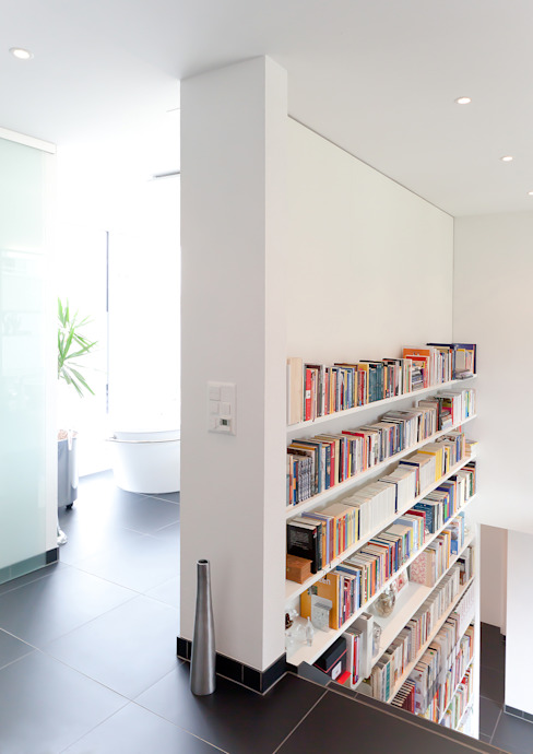 Hildenhöfli Moderne Badezimmer von Hans Ritschard Architekten AG Modern