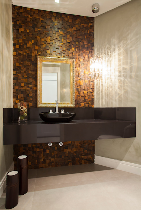 Eclectic style bathroom by Luine Ardigó Arquitetura Eclectic