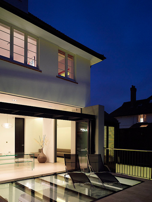 ​Sheen Lane, Exterior Modern houses by BLA Architects Modern