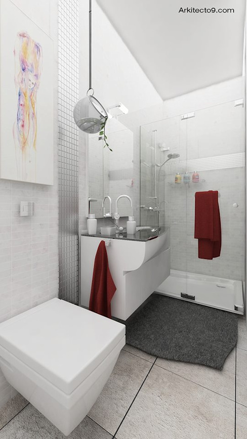 Classic style bathroom by arquitecto9.com Classic
