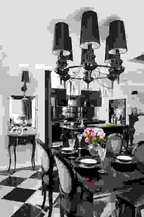 Salas de jantar ecléticas por livinghome wnętrza Katarzyna Sybilska Eclético