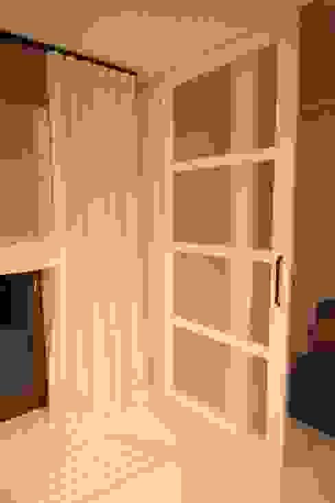 Zasłona + Drzwi suwane Comfort & Style Interiors Okna i drzwiDrzwi