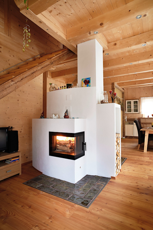 Country style house by Thoma Holz GmbH Country
