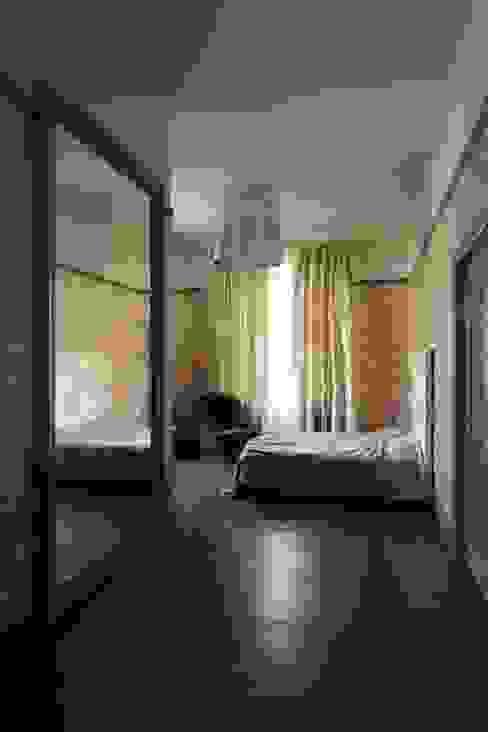 Подмосковный загородный дом для отдыха большой семьи и приема гостей  : Спальни в . Автор – AlenaPolyakova.com,