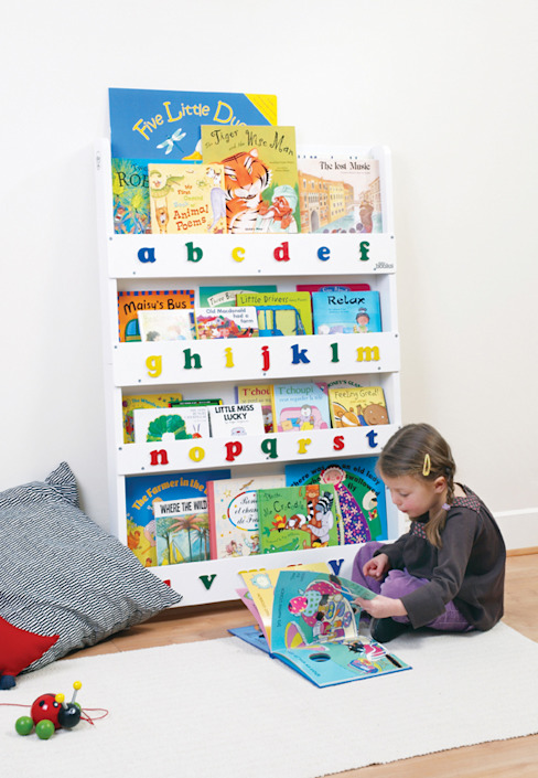 Tidy Books Children's Bookcase - white: modern  by Tidy Books, Modern