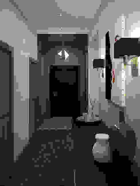 Nowoczesny korytarz, przedpokój i schody od Olesya Parkhomenko Nowoczesny