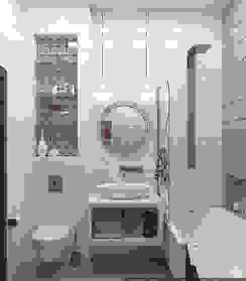 Scandinavian style bathroom by Olesya Parkhomenko Scandinavian