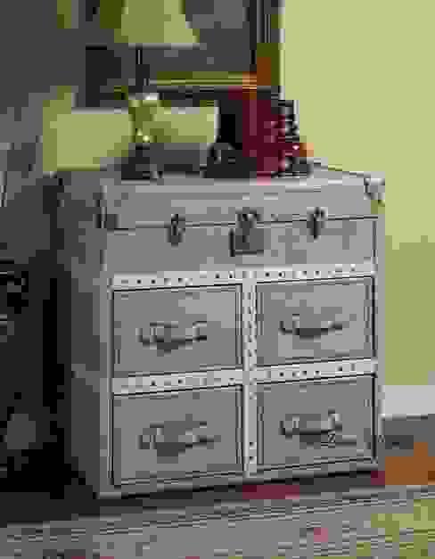 Vintage Leather Storage Cabinet: classic  by Locus Habitat,Classic