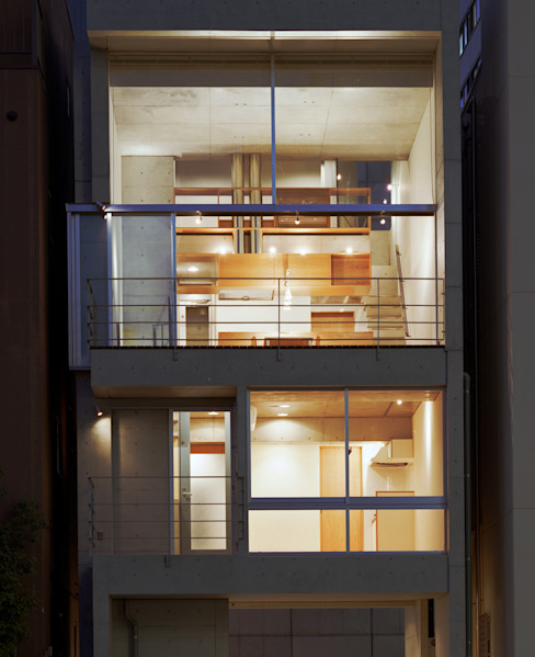 日本橋-川辺の家 オリジナルな 家 の 西島正樹/プライム一級建築士事務所 オリジナル