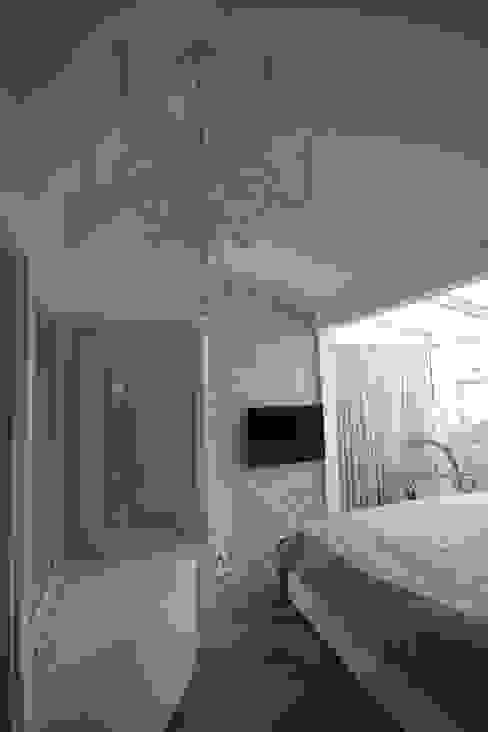 AHMET ASLI İLHAN EVİ DerganÇARPAR Mimarlık Minimalist Yatak Odası