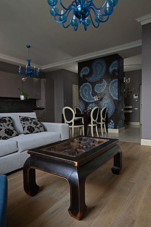 Living room by Atelier Interior, Eclectic