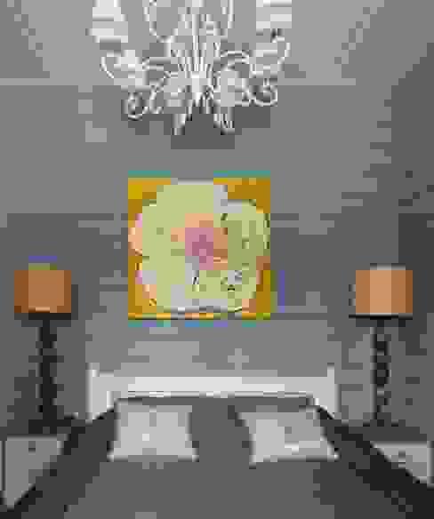 «Ягодная» дача Спальня в стиле кантри от Atelier Interior Кантри