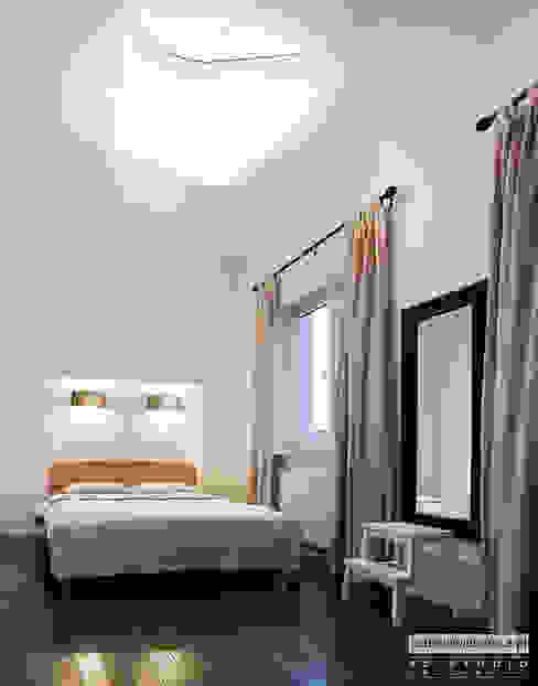 Minimalistyczna sypialnia: styl , w kategorii Sypialnia zaprojektowany przez Izabela Widomska Interiors,Minimalistyczny