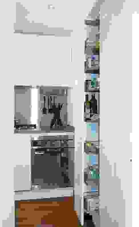 Projekty,  Kuchnia zaprojektowane przez gk architetti  (Carlo Andrea Gorelli+Keiko Kondo), Nowoczesny