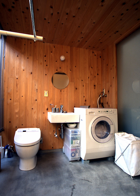 洗面・トイレ 稲吉建築企画室 オリジナルスタイルの お風呂