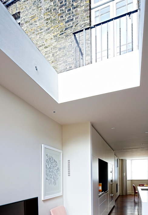 Redesdaale Street Chelsea Basement Development Rooflight Modern windows & doors by Shape Architecture Modern