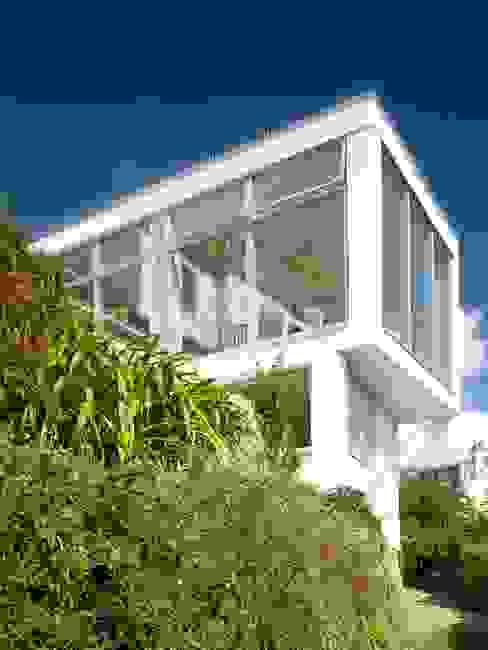 Salcombe pavilion richard pain architect Modern living room