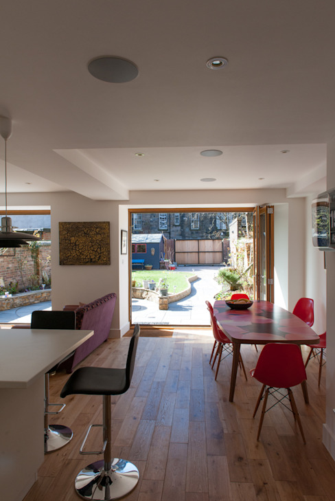 Hillhead Refurbishment 03 Modern dining room by George Buchanan Architects Modern
