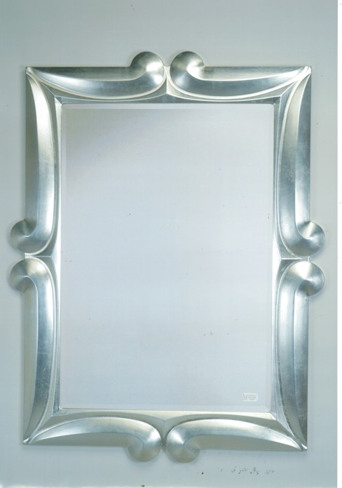 Designspiegel 3782 silber: modern  von Marianeschi Spiegel und Bilderrahmen GmbH,Modern