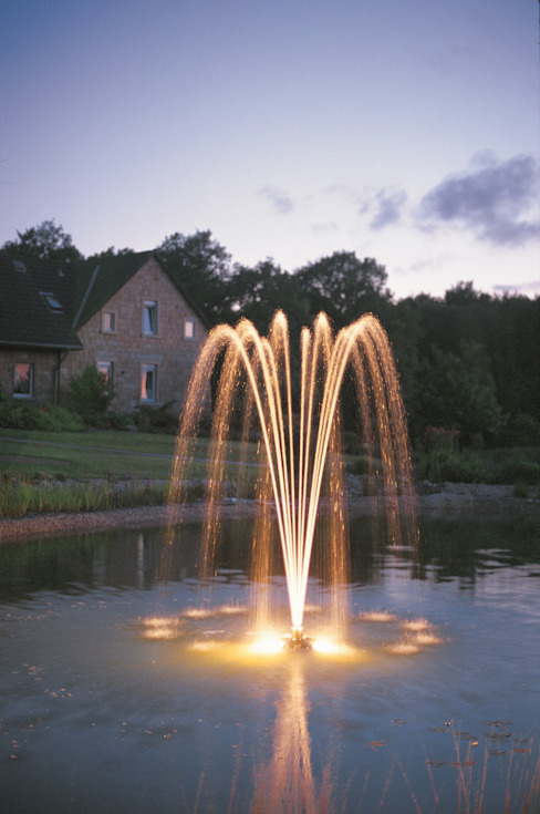 Decorative Dancing Floating Fountain Klassieke tuinen van Water Garden Ltd Klassiek