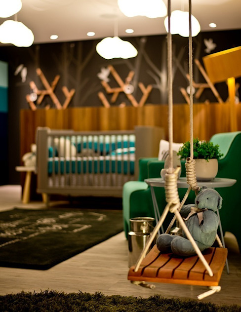 Nursery/kid's room by Espaço do Traço arquitetura, Modern