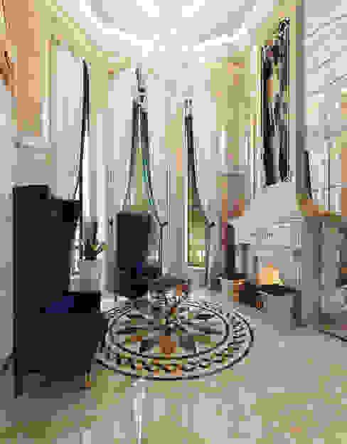 Klasyczny salon od Y&S ARCHITECTURE – INTERIOR DESIGN Klasyczny