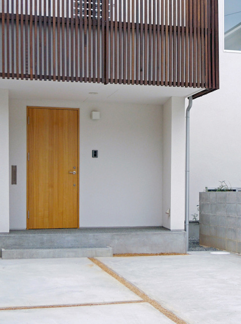 Maisons modernes par wada architectural design office 和田設計 Moderne