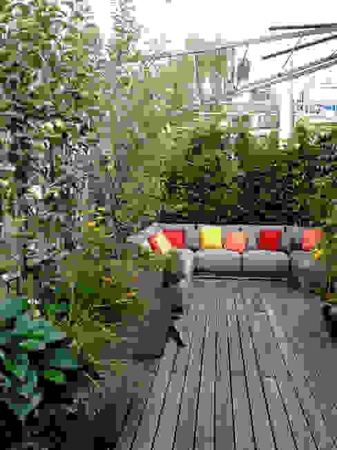 Dachterrassen- Gestaltung München-Au Moderner Garten von Blumen & Gärten Modern