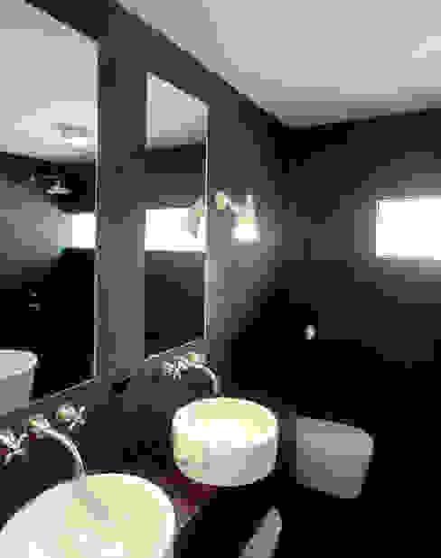 villa Bergen II Moderne badkamers van paul seuntjens architectuur en interieur Modern
