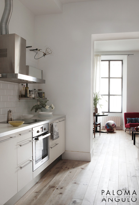 Industrial style kitchen by Interiorismo Paloma Angulo Industrial