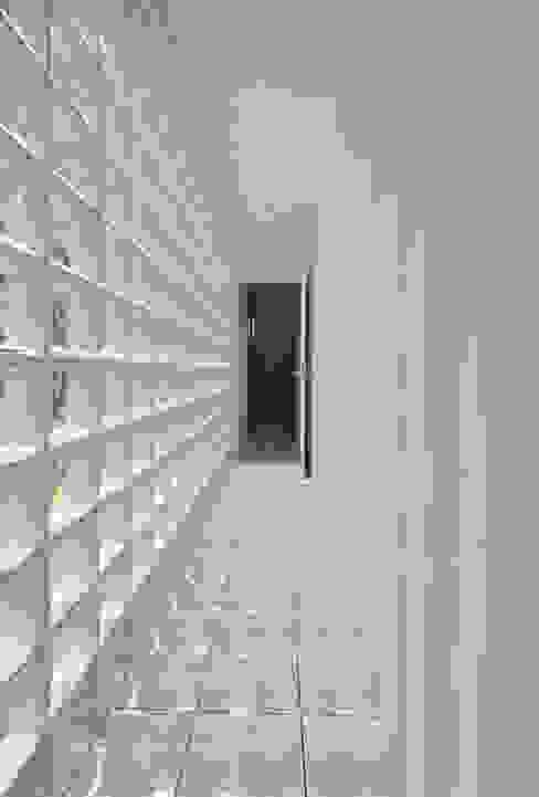 1+n モダンスタイルの 玄関&廊下&階段 の 加藤一成建築設計事務所 モダン