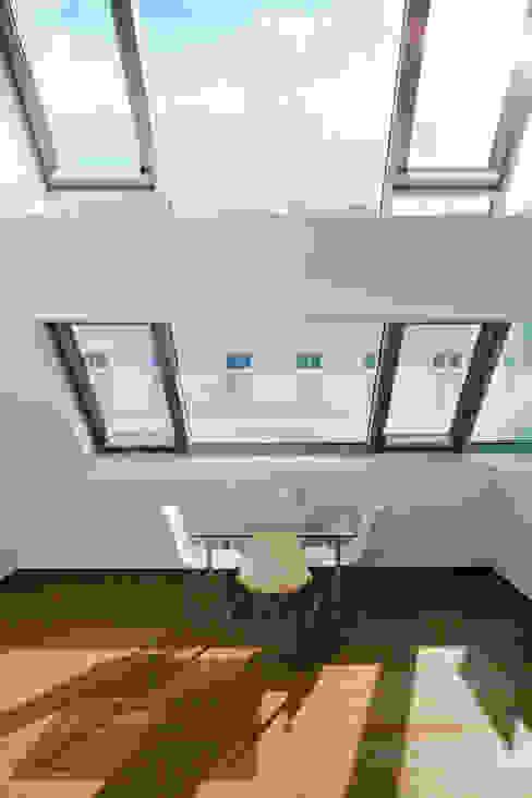 t-hoch-n Architektur의  서재 & 사무실, 모던