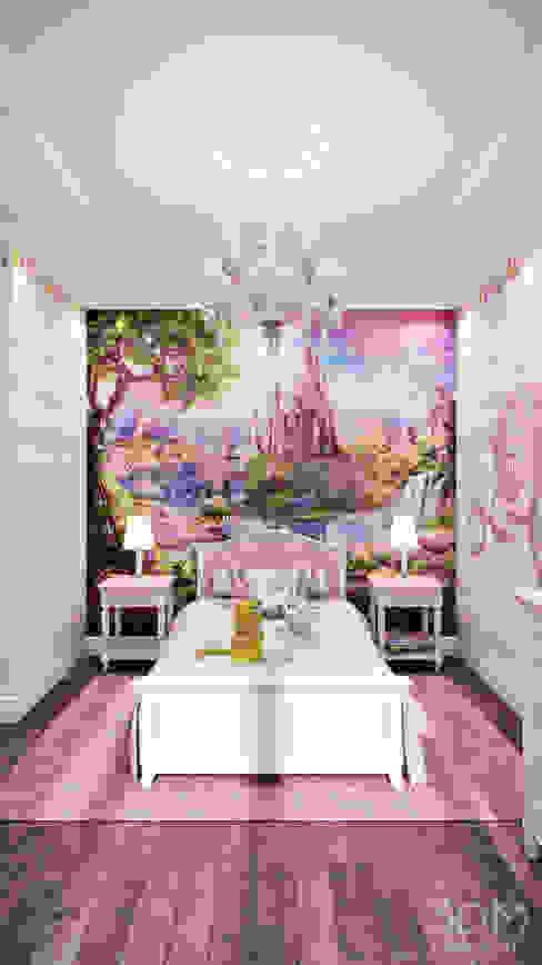 Habitaciones para niños de estilo minimalista de студия визуализации и дизайна интерьера '3dm2' Minimalista