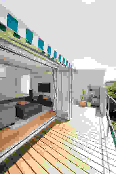 Terrazza in stile  di キリコ設計事務所
